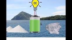Salzwasserbatterie ungiftig ungefährlich! Freie Energie von der Sonne - PV speichern - Aquion Energy