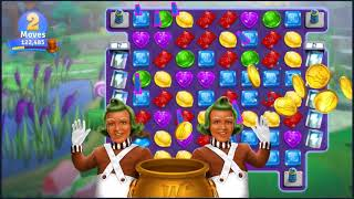 Wonka's World of Candy Level 98 - NO BOOSTERS + FULL STORY ???? | SKILLGAMING ✔️