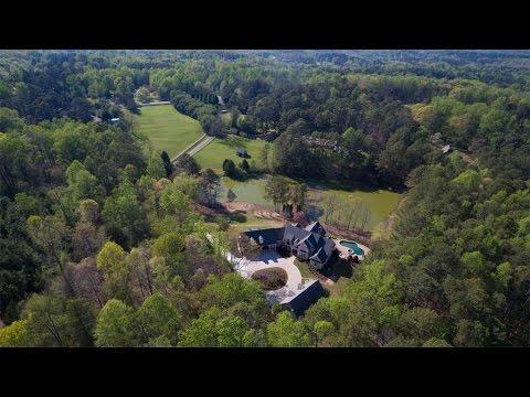 Elegant Gated Equestrian Estate in Milton, Georgia