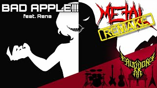 Download lagu Bad Apple!!! (feat. Rena) 【Intense Symphonic Metal Cover】