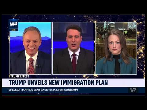 "i24's ""Stateside"" with David Shuster, May 16, 2019: Trump & Immigration"