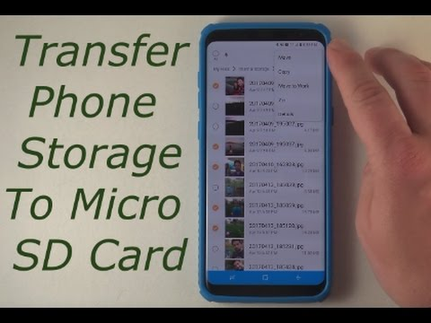 Transfer Phone Storage To Micro SD Card