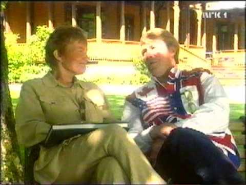 TV-programmet Herskapelig på Dalen Hotel i 2000.