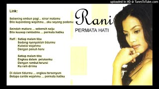 Lirik Lagu Tembang Kenangan - Permata Hati by Rani