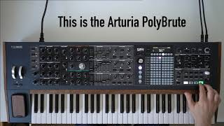 Ambient jam with the Arturia PolyBrute