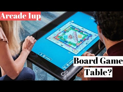 Infinity Game Table by Arcade1Up Announcement | 50+ Digital Board games! Including Hasbro! from UrGamingTechie