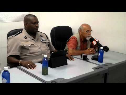 Royal Turks and Caicos Islands Police Press Conference 09-08-12