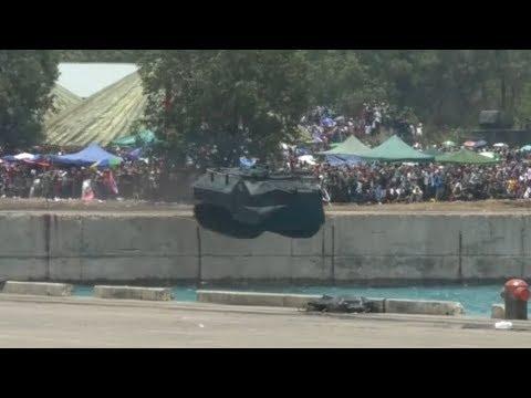 Unjuk Gigi ALUTSISTA Pada HUT TNI Ke 72 Di Cilegon - YouTube