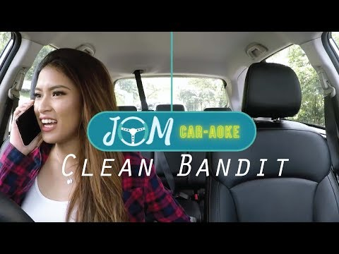 Jom Car-aoke (Clean Bandit) with Johanis Sani and Cupcake Aisyah