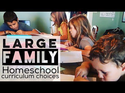 Homeschool Curriculum Choices for 2017-2018