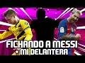FICHANDO A MESSI + MI DELANTERA | ¡¡2.000 SUSCRIPTORES!! | FIFA 17 MOBILE