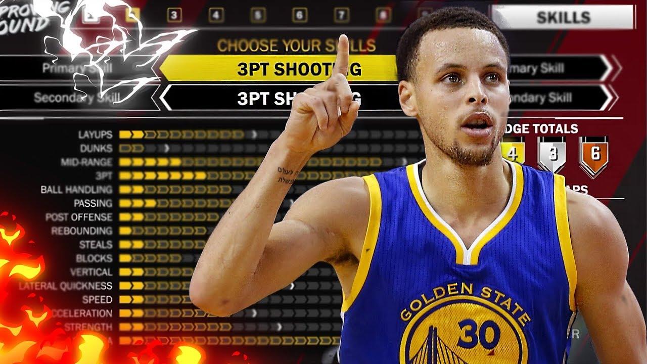 c7e5ac84814 NBA 2K18 SHOOT LIKE STEPH CURRY! BEST PURE SHARPSHOOTER BUILD NBA ...