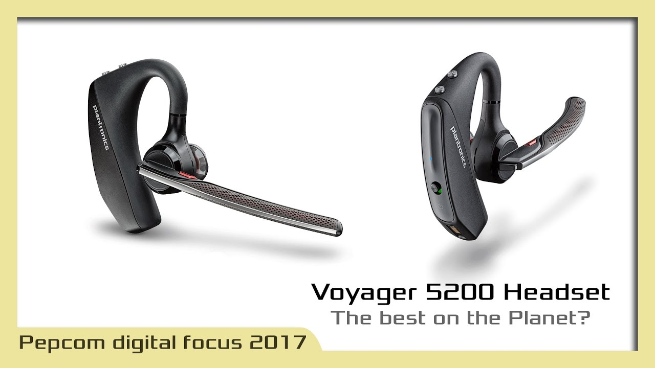 Voyager 5200 S Bulletproof Wind Noise Reduction Youtube