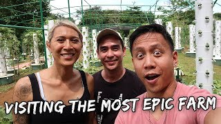 Visiting THE MOST EPIC FARM of Angie Mead King | Vlog #584