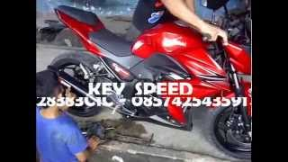 Knalpot Ninja z250 Scorpion Carbon By Key Speed