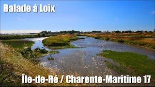 Balade à Loix, Charente-Maritime (17).