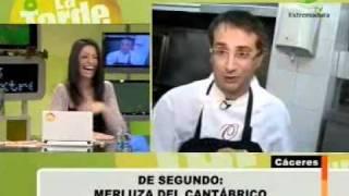 Cocinero desquiciado en Canal Extremadura TV