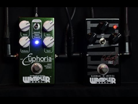 wampler euphoria overdrive and velvet fuzz demo review 3p3d2013 day16 30 pedals 30 days. Black Bedroom Furniture Sets. Home Design Ideas