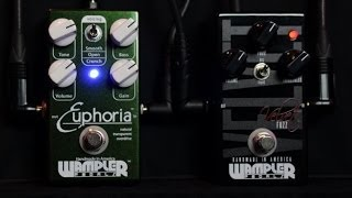 WAMPLER EUPHORIA Overdrive and VELVET Fuzz : Demo & Review : 3P3D2013-DAY16 ~ 30 Pedals 30 Days
