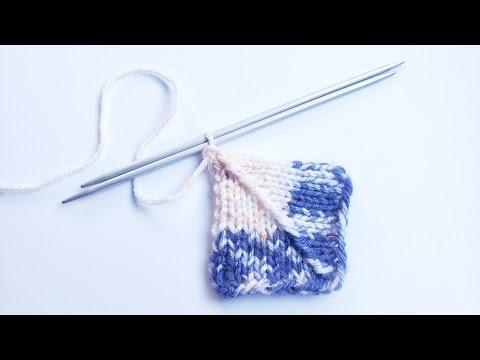 Пэчворк для начинающих /Knitting A Patchwork.