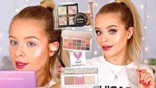 FULL FACE DRUGSTORE CRUELTY FREE MAKEUP | sophdoesnails
