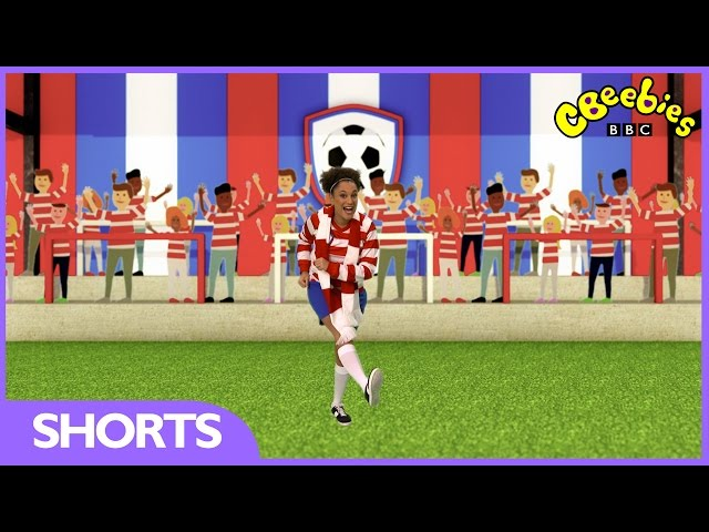 CBeebies | Magic Door | Learn The Football Dance!