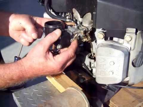 25 hp kawasaki surging #1 - youtube