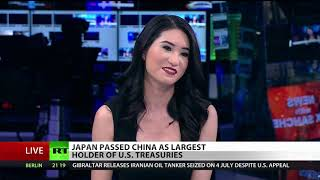 Why you should worry about Japan, China owning so much of US