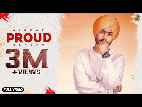 Proud - Himmat Sandhu (Lyrical Video) ft. Laddi Gill | Latest Punjabi Songs 2018 | Folk Rakaat