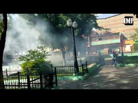 GNB Y Policías Reprimen Masiva Protesta En Chivacoa #23Sep