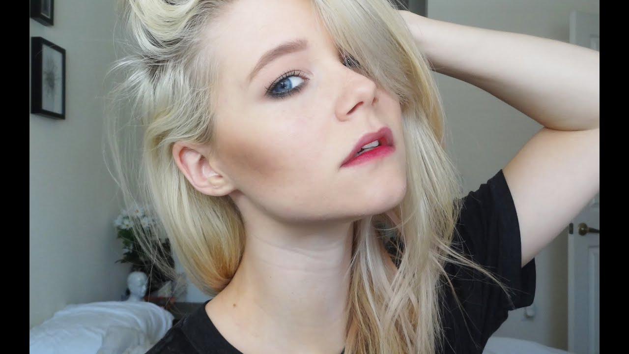 Sky Ferreira Inspired Makeup and Hair - YouTube
