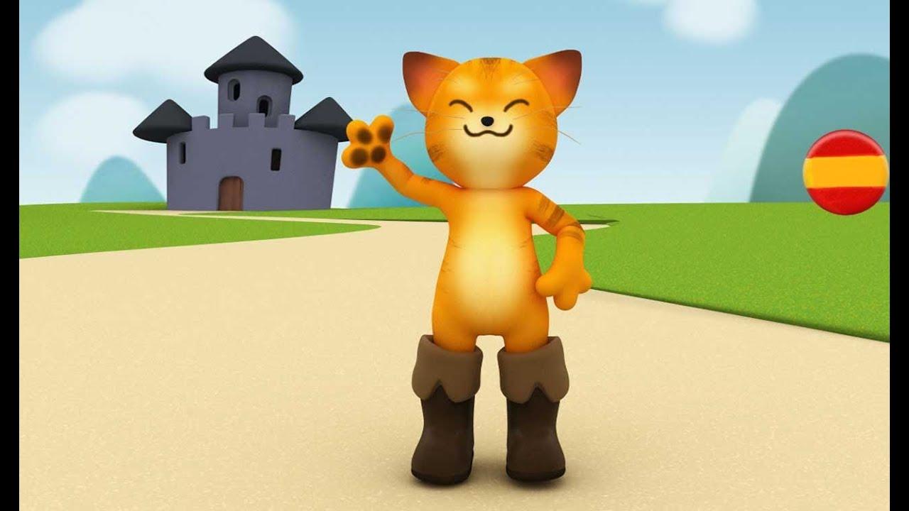 El Gato Con Botas Cuentos Infantiles En Español Youtube