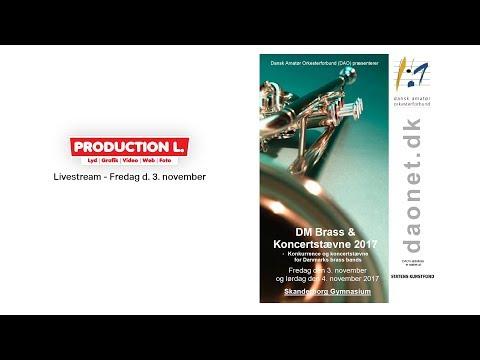 DM Brass og Koncertstævne 2017 - Fredag d. 3. nov.