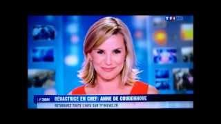 Laurence Ferrari fait ses adieux à TF1