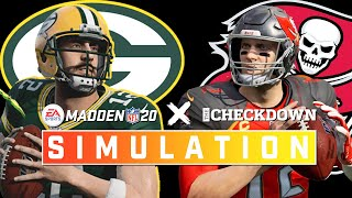Green Bay Packers vs. Tampa Bay Buccaneers Week 6 Full Game | Madden 2020 Season Simulation