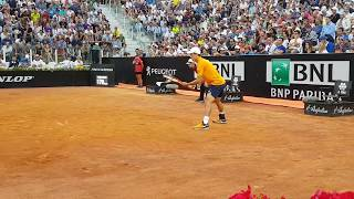 [ Kei Nishikori ] - (Court level) Internazionali BNL 3rd Round