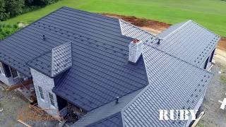 USA Metal Roof Ruby Blue Gray