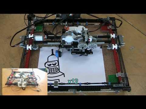 Copi 243 N 1 0 Robot Esc 225 Ner Impresora Lego Mindstorms