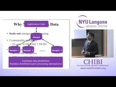 NYU CHIBI Himanshu Grover A Framework for Large-scale Proteomic Mining 01.15.2014