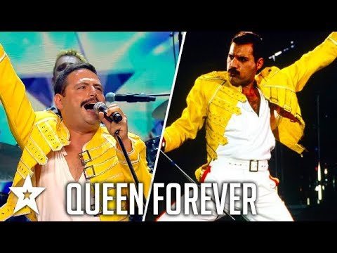 Bohemian Rhapsody!! | Queen FOREVER | Tribute Band on Spain's Got Talent | Got Talent Global