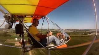 RideAlong! in an Aerolite 103 Ultralight (Flight) - EAA AirVenture 2013