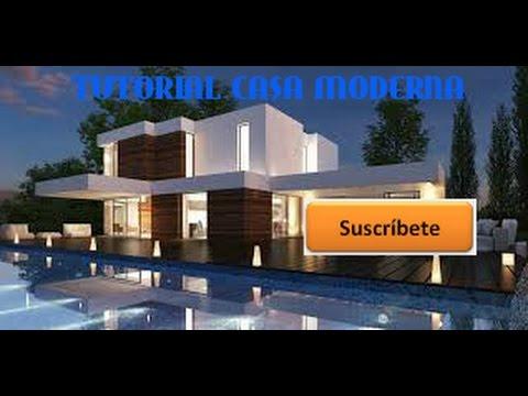 Como hacer una casa moderna en minecraft de xbox 360 youtube for Casa moderna minecraft xbox 360