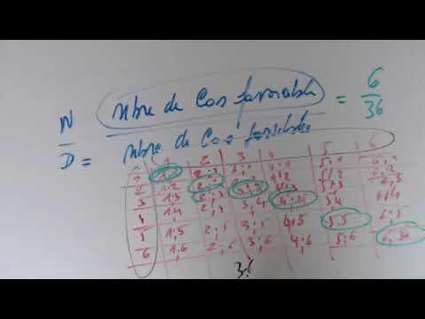 Probabilité - Exercice de dénombrement (Jeu de dés ) - YouTube