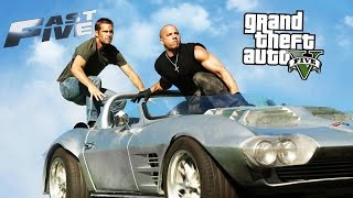 GTA 5 in Fast Five (Fast And Furious) - Trailer Mashup