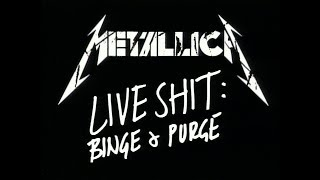 Metallica - Live Shit: Binge & Purge - San Diego 1992 [60fps]