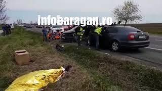 Accident cumplit Potarnichesti, 1 mort