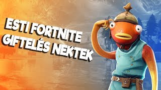 EVENING FORTNITE WE ARE PUSHING YOUR GIFTELAND YOU 32.000 TO SUBSCRIBE