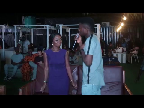 Johnny Drille woos Debbie Romeo while performing (Dear Future Wife) at the PGM Live