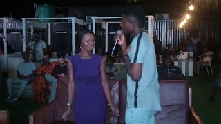 Johnny Drille woos Debbie Romeo while performing Dear Future Wife at the PGM Live