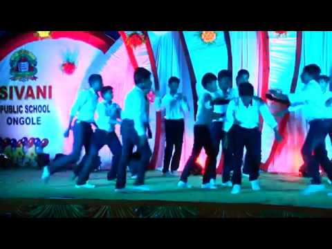 Nannaku prematho'Don't stop song perform by SIVANI PUBLIC SCHOOL 8TH BOYS 2015 2016